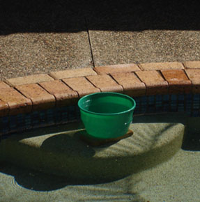 Leak Spotters Gold Coast Plumbers Bucket Test